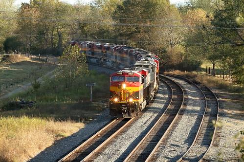 es44ac kcs kansascitysouthern kcs4825 4824 ge gevo gans oklahoma lightpower train railroad