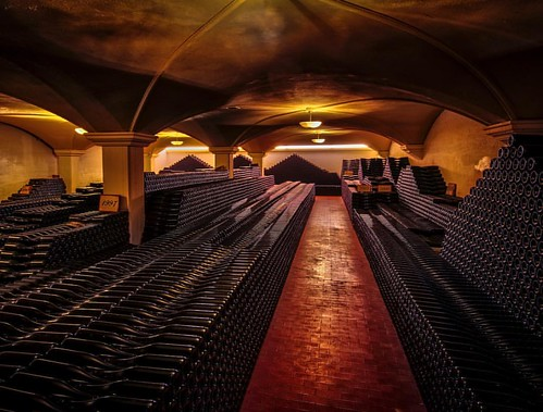 The most glorious wine cellar I've had the pleasure to visit. @emidiopepe in Abruzzo, Italy is one of the finest producers in a country filled with amazing wineries. This day was like something from my childhood Xmas dreams. Thank you to Chiara and her be