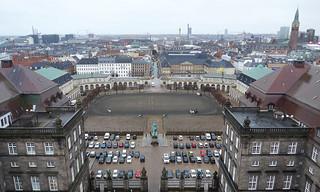 Image of  Christiansborg Palace. copenhagen denmark københavn christiansborg palace horses