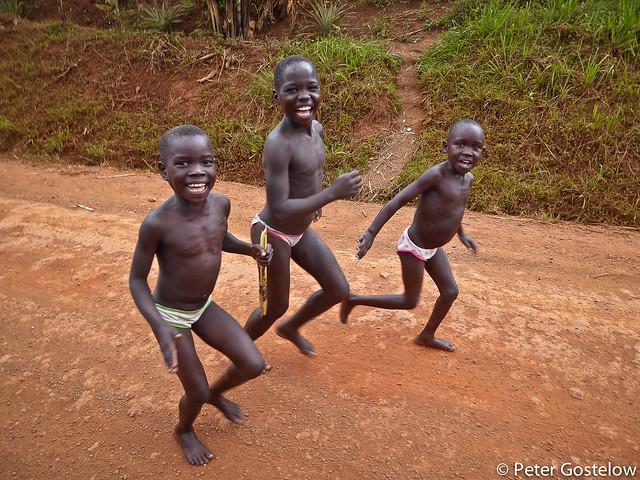 Ugandan boys