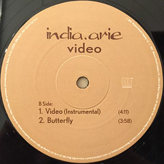 INDIA ARIE:VIDEO(LABEL SIDE-B)