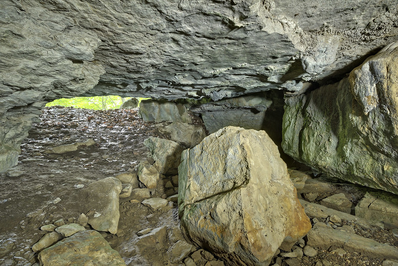 Spouting Dome Cave, Cumberland County, Tennessee 1