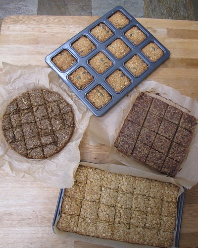 Four types of flapjack
