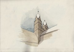 Watercolour Mass Study (Halberstadt, Liebfrauenkirche)