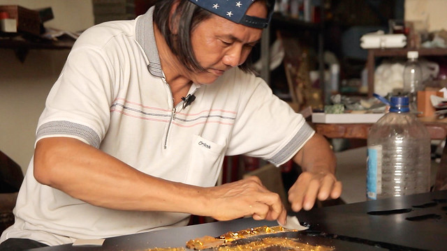 The Hip-Pop SIGNBOARD CARVER • Craftsman Shows How to Make • George Town • MALAYSIA-22