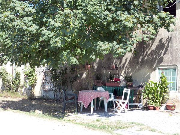 table au jardin