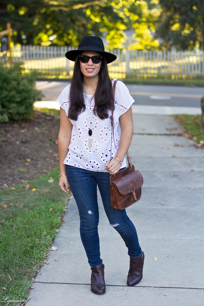 eyelet lace top, distressed jeans, vionic booties-3.jpg