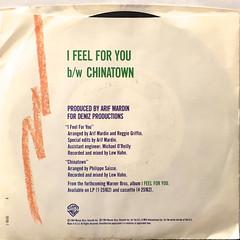 CHAKA KHAN:I FEEL FOR YOU(JACKET B)