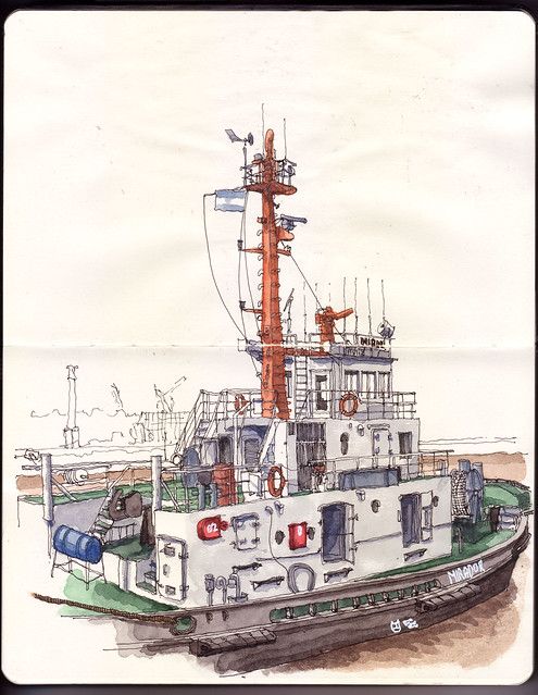 Darsena Norte II / North Dock II: