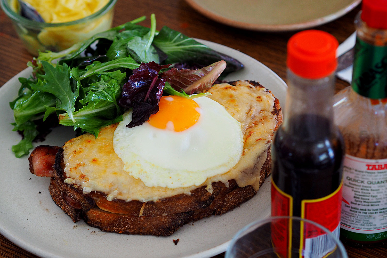 Sydney Food Blog Review of Le Grande Bouffe, Rozelle: Croque Madam, $17