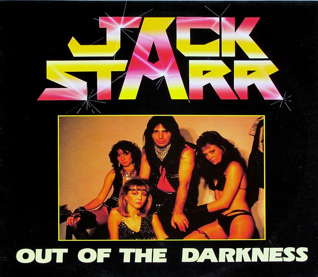 "JACK STARR OUT OF THE DARKNESS SEXY COVER FRANCE 12"" LP VINYL"