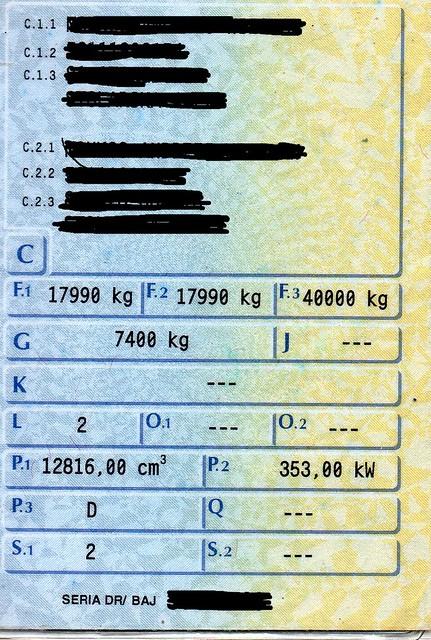 Tylko na zewnątrz Pytanie o ciagnik siodlowy 18 T ładowność ??? - wagaciezka.com CX04