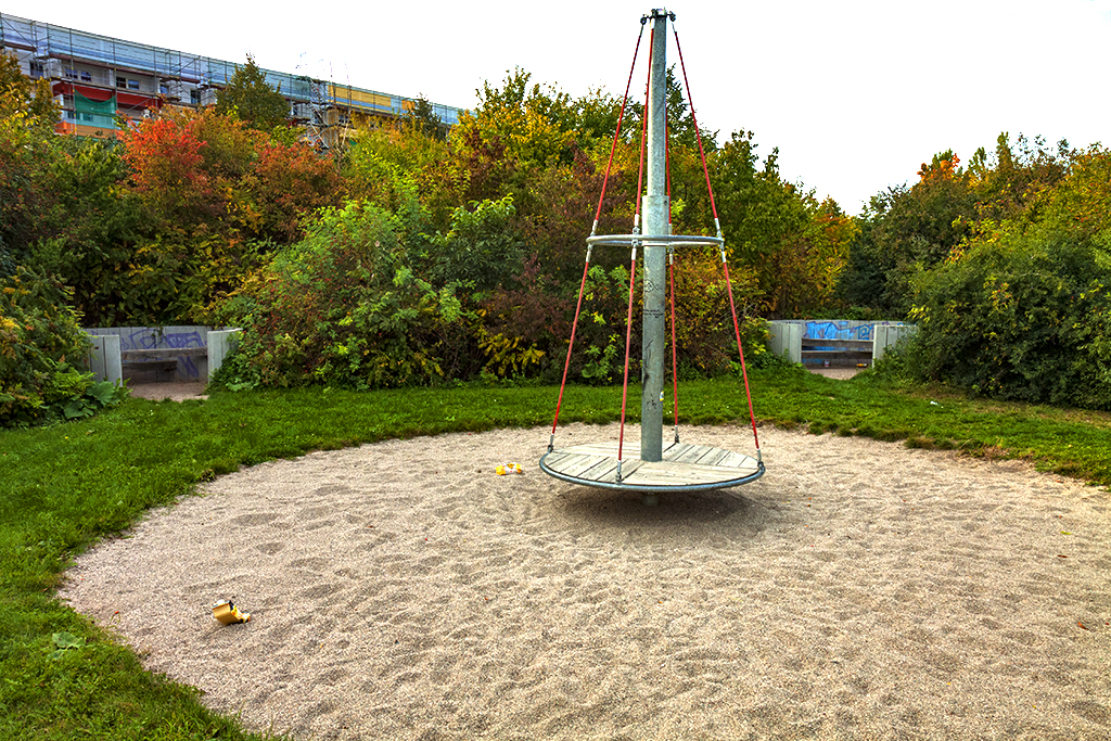 Playground in Grunau--Leipzig