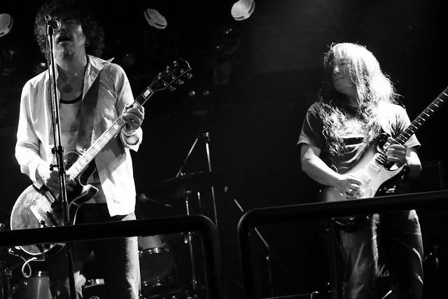 THE NICE live at Outbreak, Tokyo, 29 Sep 2015 - jam with Takayuki O.E. 428