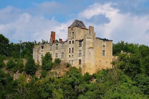 Château du Repaire à Saint-Aubin-de-Nabirat, Dordogne