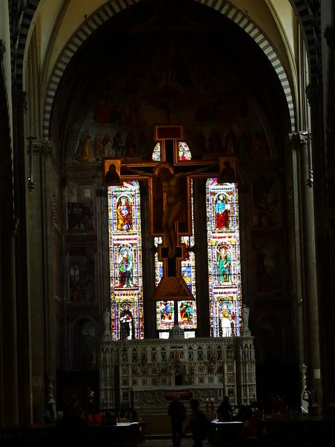 Crucifix, Giotto, S Maria Novella