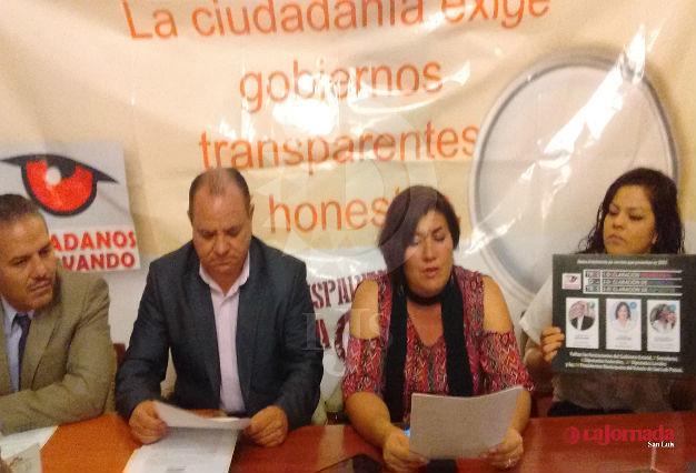 Piden ciudadanos que haya una relación transparencia en los gobiernos