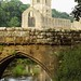 England   -   Fountains Abbey    -    June 1988 by Ladycliff