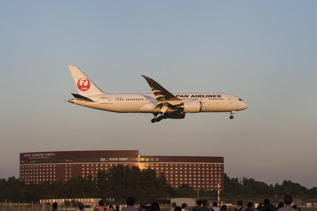 Japan Airlines Boeing 787 Dreamliner JA831J - Tokyo, NRT/RJAA 26.10.15