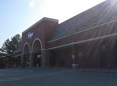 Kroger Exeter Rd., Germantown TN, the weekend prior to closing