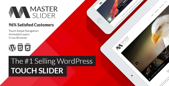 Codecanyon Master Slider v2.22.1 - WordPress Responsive Touch Slider