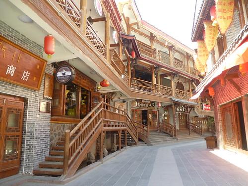 CH-Kangding-Centre-ville-Quartier piéton (2)