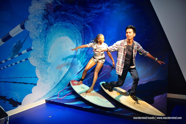 Surfing Like a Pro at Madame Tussauds Sydney