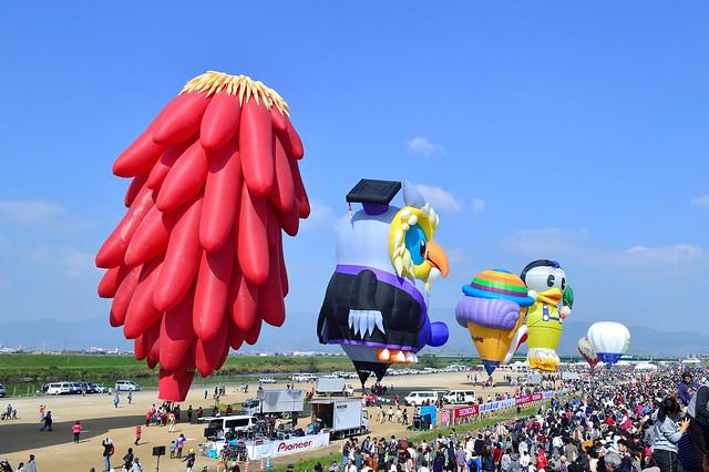 佐賀インターナショナルバルーンフェスタ2015 Saga International Balloon Fiesta
