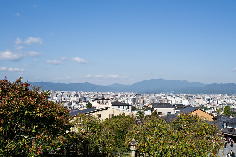 View from Kiyomizu-dera, Kyoto | packmeto.com