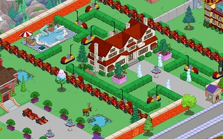 Quimby Mansion with Race Car walls