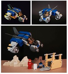 Classic Space Light Transport Ship