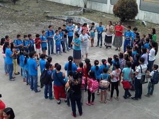 Evangelizando con alegría