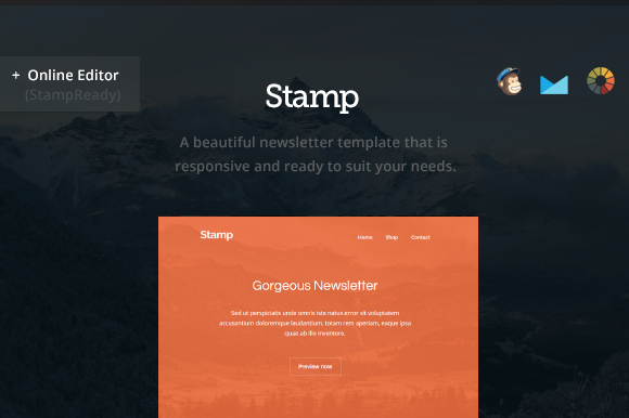 Creativemarket Stamp - Email Newsletter - Builder