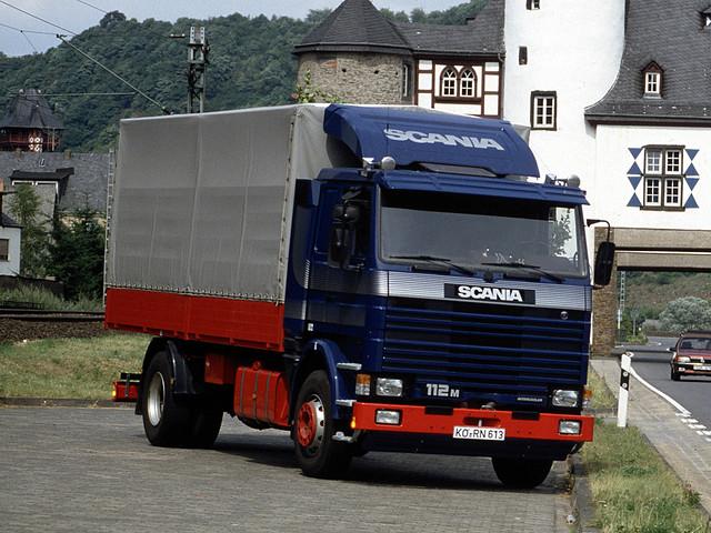 Грузовой фургон Scania 112M 4x2. 1981 – 1988 годы