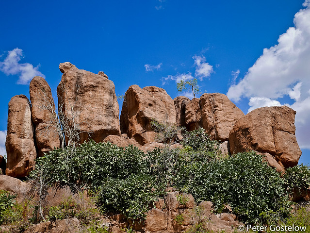 Boulders east from Harar