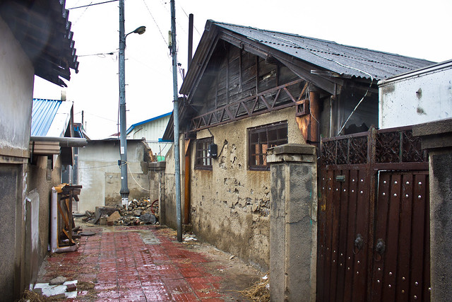 Colonial era building, Ganggyeong-eup, South Korea