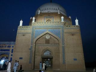 Baha-ud-din Zakariya Mazar Shah Rukn-e-Alam tomb Fort Multan Pakistan Oct 2015  003