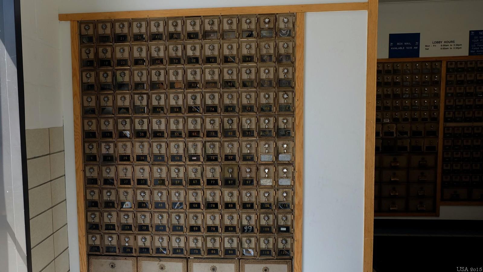 Post Office, Maynard, MA, USA