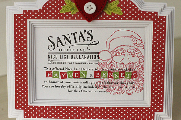 Santa Stationery and Type Strips Stamps by Papertrey Ink