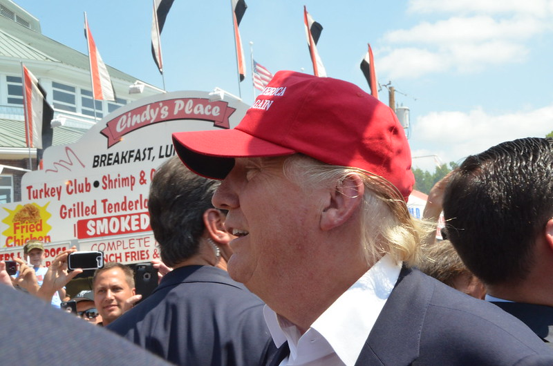 Trump at the Fair