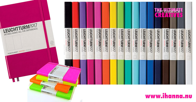 The Ultimate Gift Guide: Leuchtturm 1917 color range
