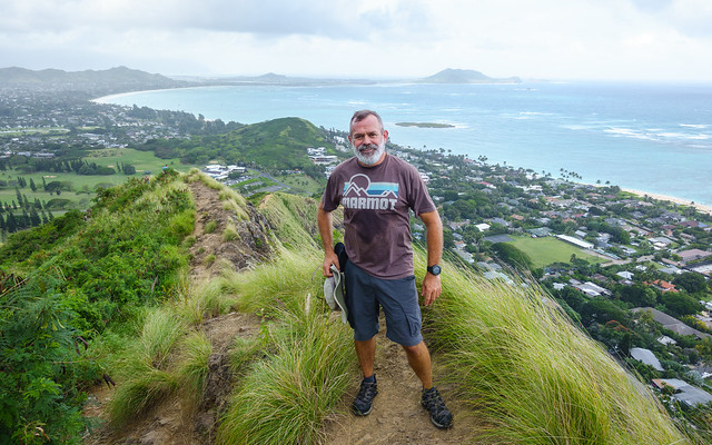 Pillbox hike above Kailua