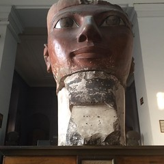 A part of an #ancient #Egyptian #pharaoh #statue from the modern #kingdom era in #ancientegypt #Egypt at the Egyptian #Museum in #Cairo #Discoveryourcity #Citizenjournalism #blogger