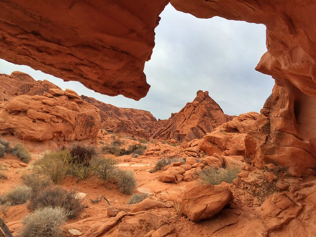 Window Into the Valley of Fire