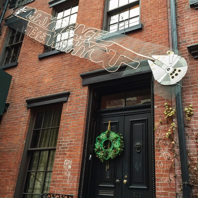Best house decorations I've seen this year.