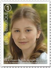 01 La Famille Royale Timb A - Elisabeth