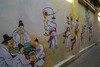 Mural in Hanok Village