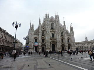 Imagine de Milan Cathedral. milano duomo cathedral milan μιλάνο ミラノ façade facade