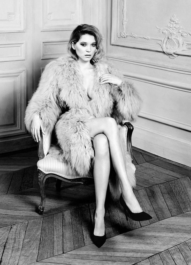 Леа Сейду — Фотосессия для «Harper's Bazaar» 2016 – 2
