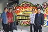 Karangan bunga dari Jurusan Teknik Elektro, Politeknik Negeri Bali
